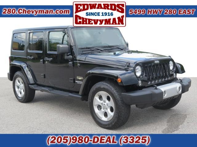 Pre Owned 2015 Jeep Wrangler Unlimited Sahara