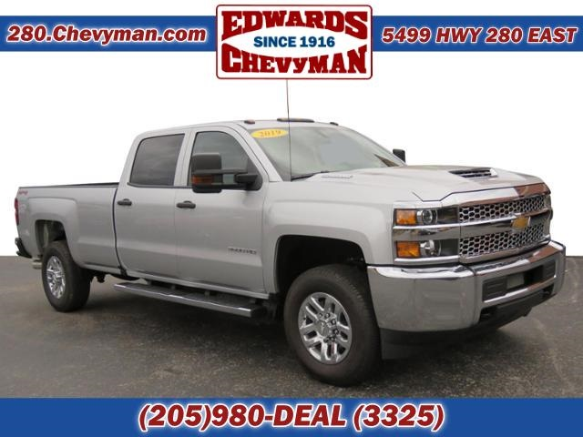 New 2019 Chevrolet Silverado 3500hd Work Truck 4d Crew Cab In